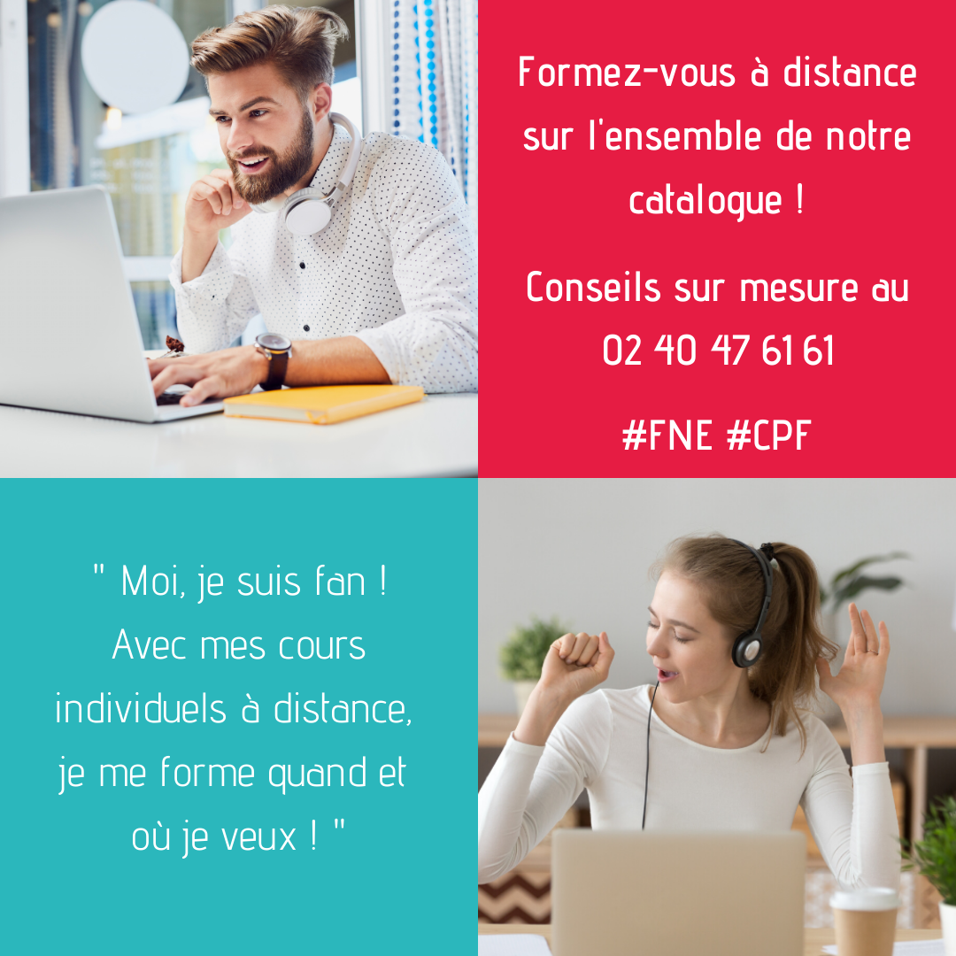 Pop up formation en ligne
