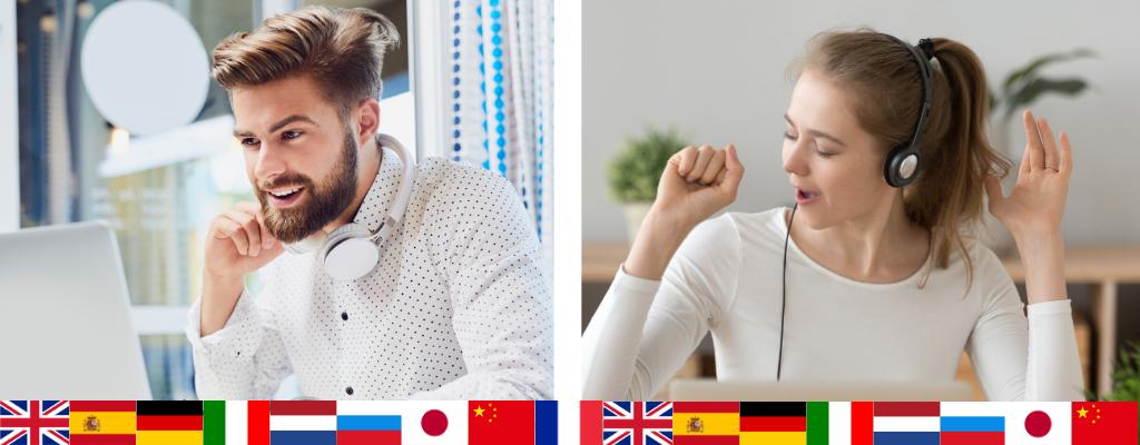 Formation à distance en langue